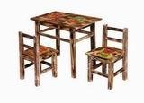 Dekorativní stoleèek barevný