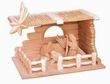 Dřevěný betlém 11