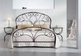 Kovová postel Klaudie 180x200