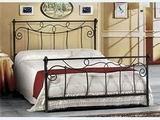 Kovová postel Nora 180x220