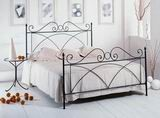 Kovová postel Alice 180x210