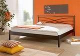 Kovová postel Angeleta 180x210