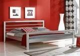 Kovová postel London 140x220