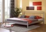 Kovová postel Luna 140x200