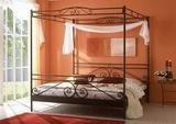Kovová postel Angelique prodloužená 140x220