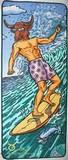 Plážová podložka se zipem- býk