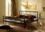 Kovová postel Verena 90x200 - DOPRAVA ZDARMA