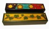 Šperkovnice, krabièka - døevìná , Listy