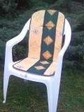 Polstr na vysokou židli 94x40x2
