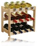 Døevìný stojan na víno - 12 lahví - DOPRAVA ZDARMA