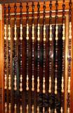 Korálkový závìs 100cm - celý tmavý - DOPRAVA ZDARMA