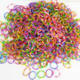 Pletací gumièky 200ks + jehlice