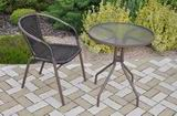 Zahradní nábytek kov + umìlý ratan 1+1