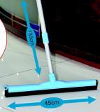 Stìrka na podlahu s gumou a teleskopickou tyèí, 135 cm