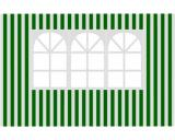 Boènice zahradního stanu s oknem-pruhy