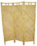 Bambusový paravan AXIN 2 natural - vzhledové vady