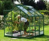 skleník VITAVIA VENUS 3800 èiré sklo 3 mm zelený