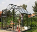 skleník VITAVIA URANUS 6700 èiré sklo 3 mm zelený