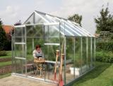skleník VITAVIA URANUS 8300 matné sklo 4 mm støíbrný