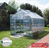skleník VITAVIA URANUS 9900 PC 6 mm støíbrný