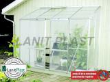skleník VITAVIA IDA 3300 PC 6 mm støíbrný