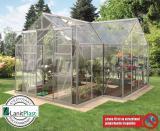skleník VITAVIA SIRIUS PC 6 mm støíbrný