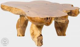 BRANCH V - stolek z teaku