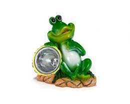 Solární lampa - žabák