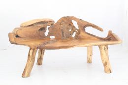 ROOT - lavice z teaku