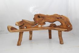 ROOT- lavice z teaku