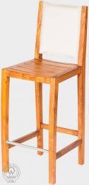 MERY - barová židle z teaku