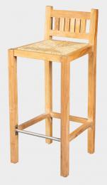 NANDA barovka - barová židle z teaku
