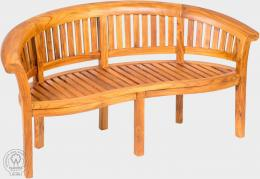 FABIO II - lavice z teaku