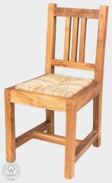 NANDA MINI - židle s výpletem z teaku