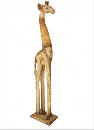 Žirafa stojící  textura bílá