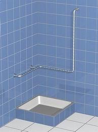 Sprchové madlo - s hladkou svislou opìrou
