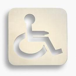 Oznaèení dveøí invalida - leštìný