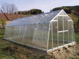 Pozinkovaný skleník J 4