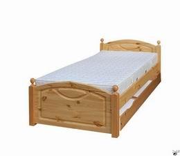 Døevìná postel 118 90x200