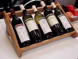 Regál na víno K5