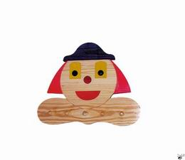 Dìtský vešák - klaun