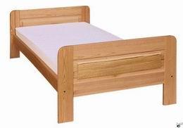 Døevìná postel z borovice 120x200