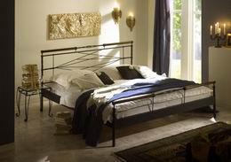 Kovová postel Kelly 180x210