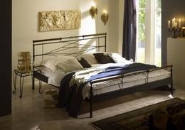 Kovová postel Kelly 180x220