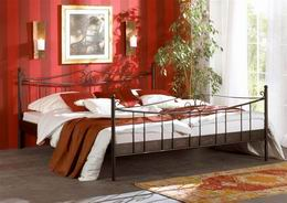 Kovová postel Rio Grande 200x200
