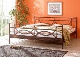 Kovová postel Toscana 140x200 - Doprava zdarma