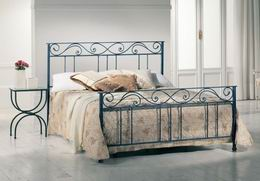 Kovová postel Ester 180x210