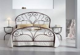 Kovová postel Klaudie 180x220