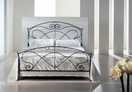 Kovová postel Hermína 180x220