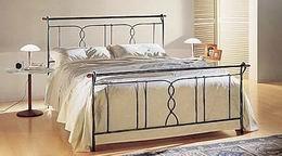 Kovová postel Justýna 180x200